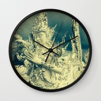 thailand Wall Clocks featuring Thailand by very giorgious