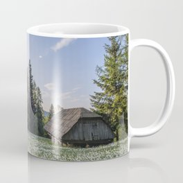 Spring by the Cottage in the Mountains Coffee Mug