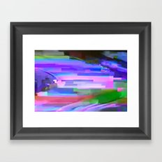 scrmbmosh240x4a Framed Art Print