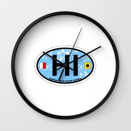 Hunting Island - South Carolina. Wall Clock