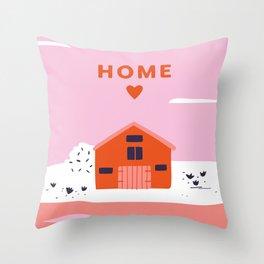 HOME <3  Throw Pillow