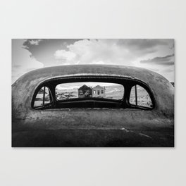 poin of vew Canvas Print