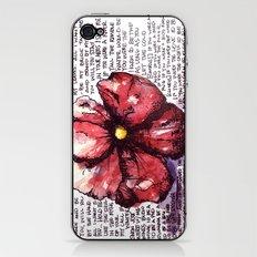 Juno Flower iPhone & iPod Skin