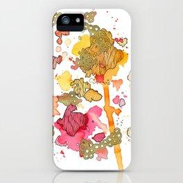 Radicchio Run iPhone Case