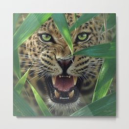 Jaguar - Ambush Metal Print