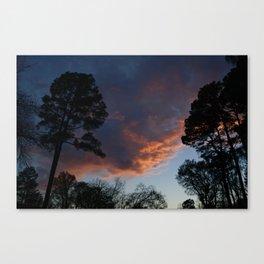 Lovely Sunset (1) Canvas Print