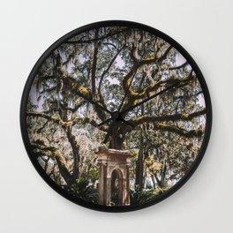 Bonaventure Cemetery - Savannah, Georgia III Wall Clock