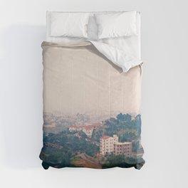 DALAT IN THE FOG Comforters
