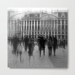 Belgian Reverberation Metal Print