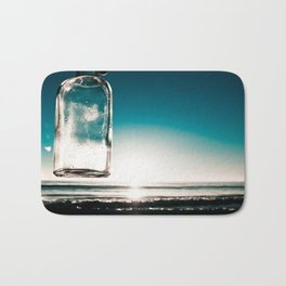 Glass beach Bath Mat