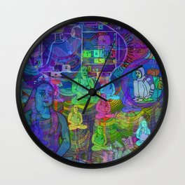 SPACED OUT Wall Clock