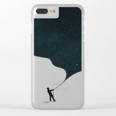 Night fills up the sky Clear iPhone Case
