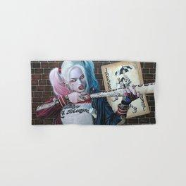 Harley Quinn Hand & Bath Towel