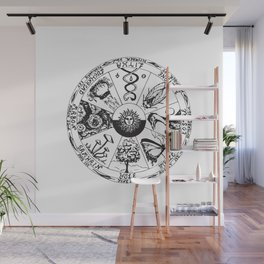 Wiccan Wheel Of The Year Wall Mural