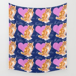 Here Kitty Kitty Wall Tapestry