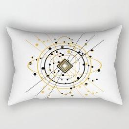Complex Atom Rectangular Pillow