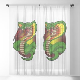 Slither Sheer Curtain