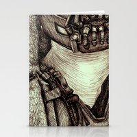 bane Stationery Cards featuring Bane by Christina Romano