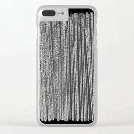 Free Vertical Composition #513 Clear iPhone Case