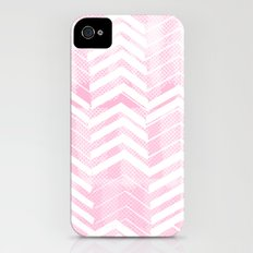 Pretty in Pink Chevron Slim Case iPhone (4, 4s)