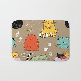 Lovely Cat Bath Mat