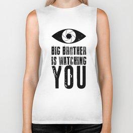 Big Brother is Watching YOU! Biker Tank