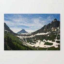 Bear Hat Peak (Glacier National Park) Canvas Print