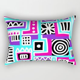 Compartment-ed Confusion Rectangular Pillow