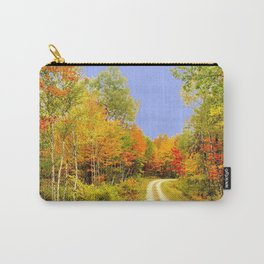 Fall Colors Maine Carry-All Pouch