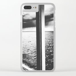 out there Clear iPhone Case