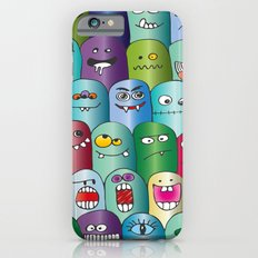 Cute Monsters Slim Case iPhone 6s