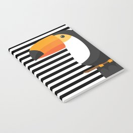 TOUCAN tropical toucans Notebook