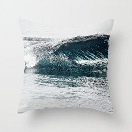 Liquid glass Throw Pillow