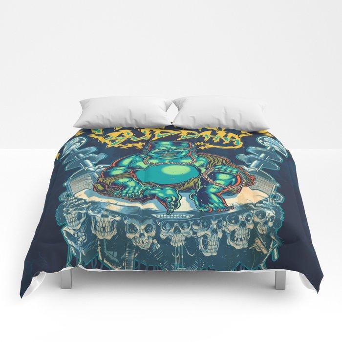 Franken-Buddha Comforters