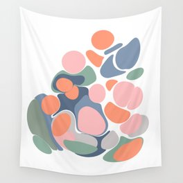 Abstract Shape Flower Art Wall Tapestry