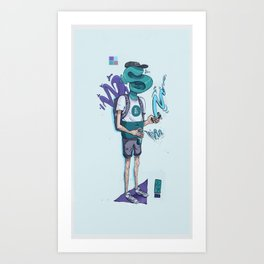 S80 Man Art Print