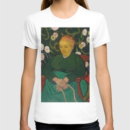 Vincent van Gogh - La Berceuse (Woman Rocking a Cradle; Augustine-Alix Pellicot Roulin, 1851–1930) T-shirt