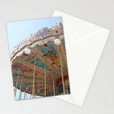 paris carousel Stationery Cards