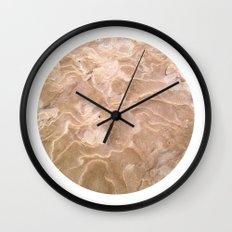Planetary Bodies - Sand Wall Clock
