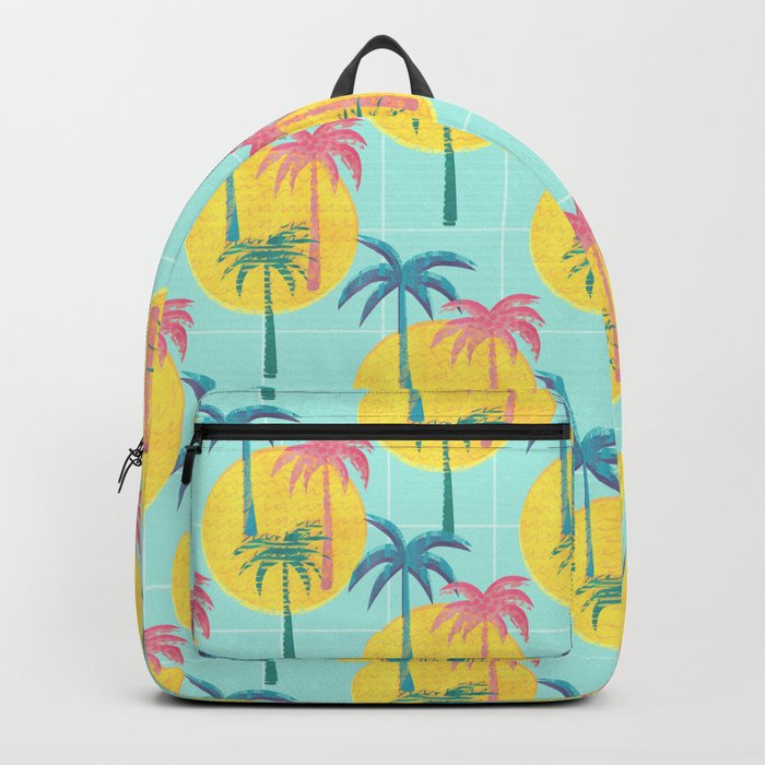 Retro Palms Backpack