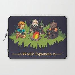 World Explorers Laptop Sleeve