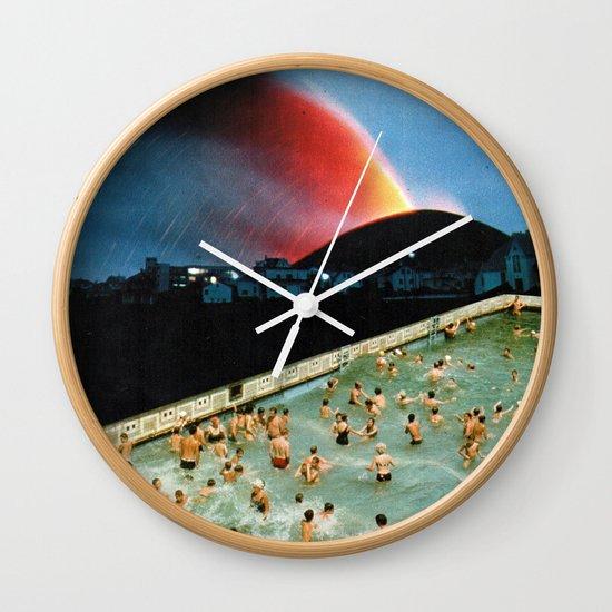 Quantum Leap Space Wall Clock