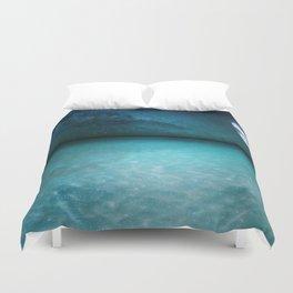 Night Swimming Duvet Cover