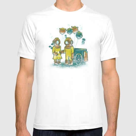the BalloonFish Vendor T-shirt