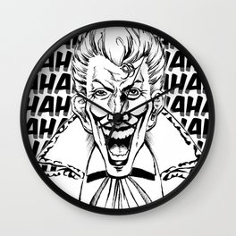 The Joker: Hahaha! Wall Clock