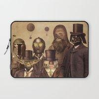 starwars Laptop Sleeves featuring Victorian Wars  by Terry Fan
