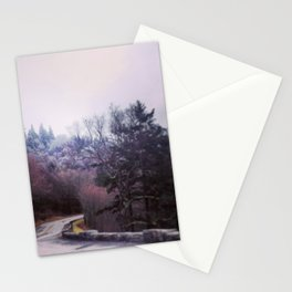 Winter On Top Stationery Cards