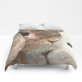 SomeBunny Loves you! Comforters
