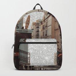 paris glitter Backpack