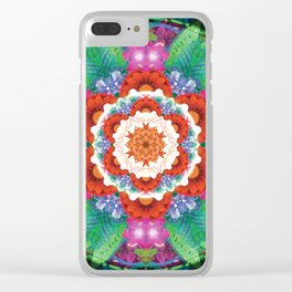 Mandalas from the Voice of Eternity 3 Clear iPhone Case